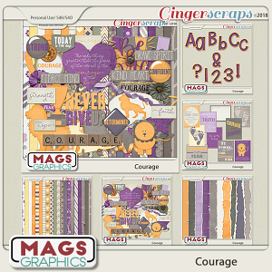 Courage BUNDLE by MagsGraphics