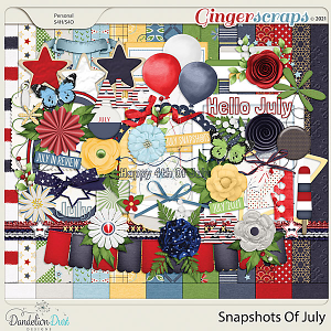 Snapshots Of July by Dandelion Dust Designs