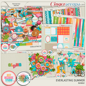 Everlasting Summer Bundle by JB Studio and Neia Scraps