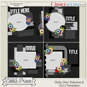 Only One Volume 6 - 12x12 Temps (CU Ok)