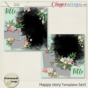 Happy story Templates Set3