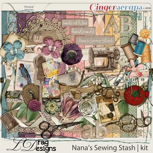 Nanas Sewing Stash by LDragDesigns