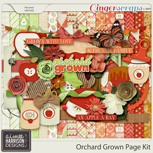 Orchard Grown Page Kit by Aimee Harrison