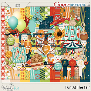 Fun At The Fair Digital Scrapbook Kit By Dandelion Dust Designs