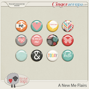 A New Me Flairs by Luv Ewe Designs