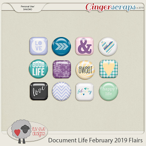 Document Life February 2019 Flairs by Luv Ewe Designs