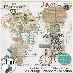 Read All About It Blendables by ADB Designs