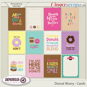 Donut Worry - Cards