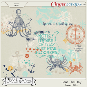 Seas The Day - Inked Bits