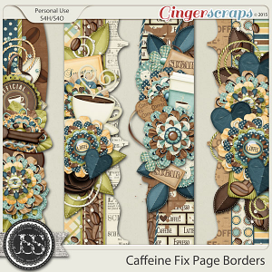 Caffeine Fix Page Borders