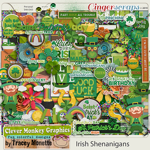 Irish Shenanigans by Clever Monkey Graphics