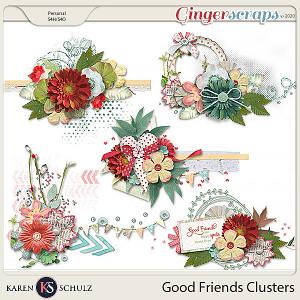 Good Friends Clusters by Karen Schulz