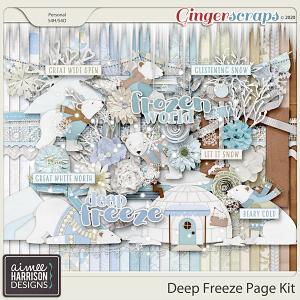 Deep Freeze Page Kit by Aimee Harrison