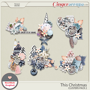 This Christmas - clusters pack 2 by HeartMade Scrapbook