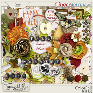 ColorFall Full Kit by Tami Miller Designs