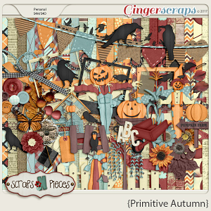 Primitive Autumn kit by Scraps N Pieces