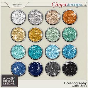 Oceanography Glitters by Aimee Harrison