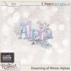 Dreaming of Winter Alpha Set by Aimee Harrison and Kristmess Designs