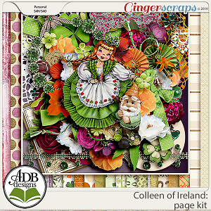 Colleen of Ireland Page Kit by ADB Designs
