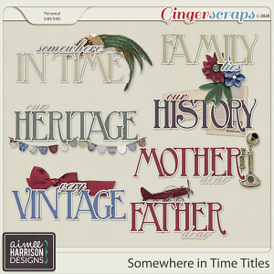 Somewhere in Time Titles by Aimee Harrison