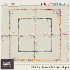 Tricks for Treats Messy Edges by Aimee Harrison