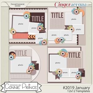 Keep Climbing - 12x12 Templates (CU Ok) by Connie Prince