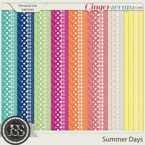 Summer Days Patterned Papers
