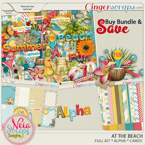 At The Beach - Bundle - By Neia Scraps