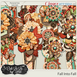 Fall Into Fall Page Borders