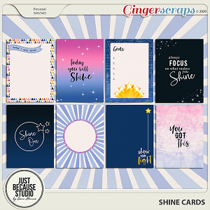 Shine Cards by JB Studio