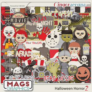 Halloween Horror 2 THE SEQUEL by MagsGraphics