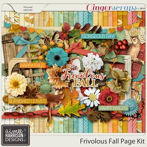 Frivolous Fall Page Kit by Aimee Harrison