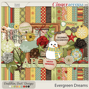 Evergreen Dreams By Dandelion Dust Designs