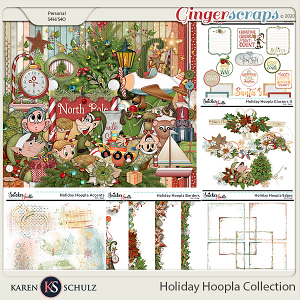 Holiday Hoopla Collection by Karen Schulz