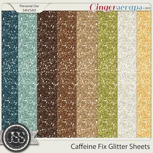 Caffeine Fix Glitter Sheets