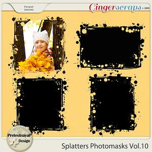 Splatters Photomasks Vol.10