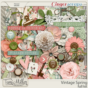 Vintage Spring Full Kit by Tami Miller Designs