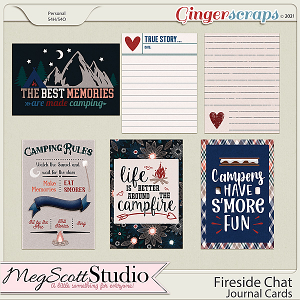 Fireside Chat - Journal Cards