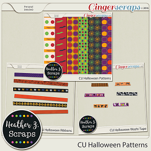 CU Halloween BUNDLE by Heather Z Scraps