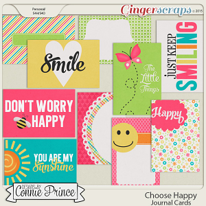 Choose Happy - Journal Cards