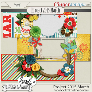 Project 2015 March - Facebook Timeline Covers