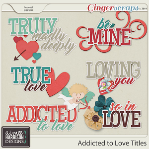 Addicted to Love Titles by Aimee Harrison