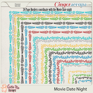 Movie Date Night Page Borders