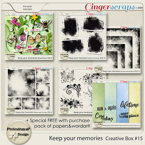 Keep your memories Creative Box #15