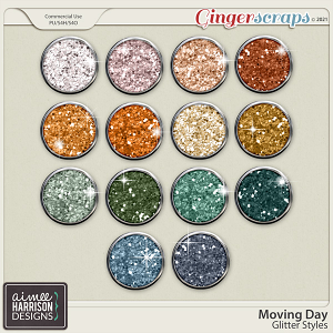 Moving Day Glitters by Aimee Harrison