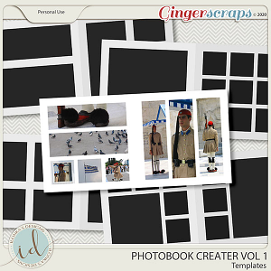 Photobook Creater Vol 1 by Ilonka's Designs