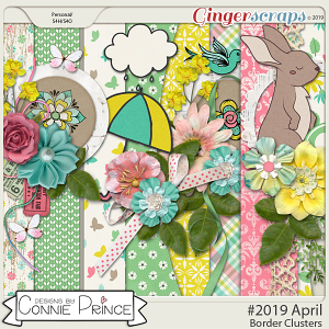 #2019 April - Border Clusters by Connie Prince