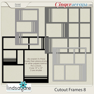 Cutout Frames 8 by Lindsay Jane