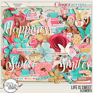 Life is Sweet - Elements - by Neia Scraps