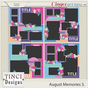 August Memories 3.